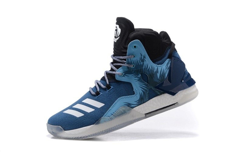 277077bc7b2b Adidas D ROSE 7 PRIMEKNIT Blue Basketball Shoes - Buy Adidas D ROSE ...