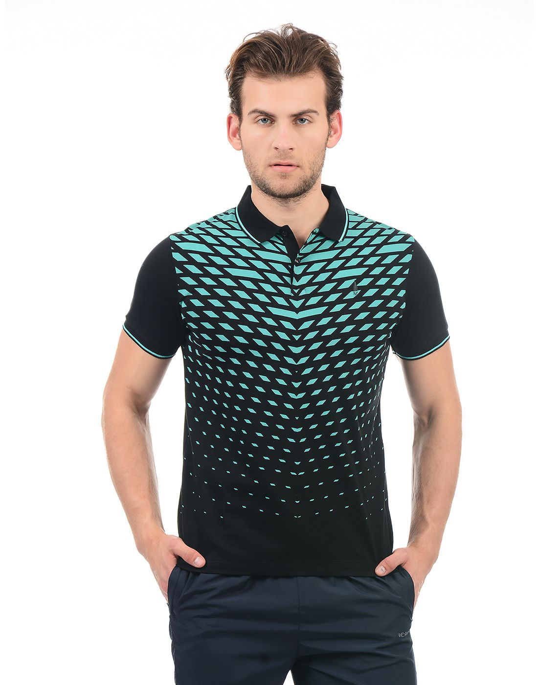e3b89948 Arrow New York Black Regular Fit Polo T Shirt - Buy Arrow New York Black  Regular Fit Polo T Shirt Online at Low Price - Snapdeal.com