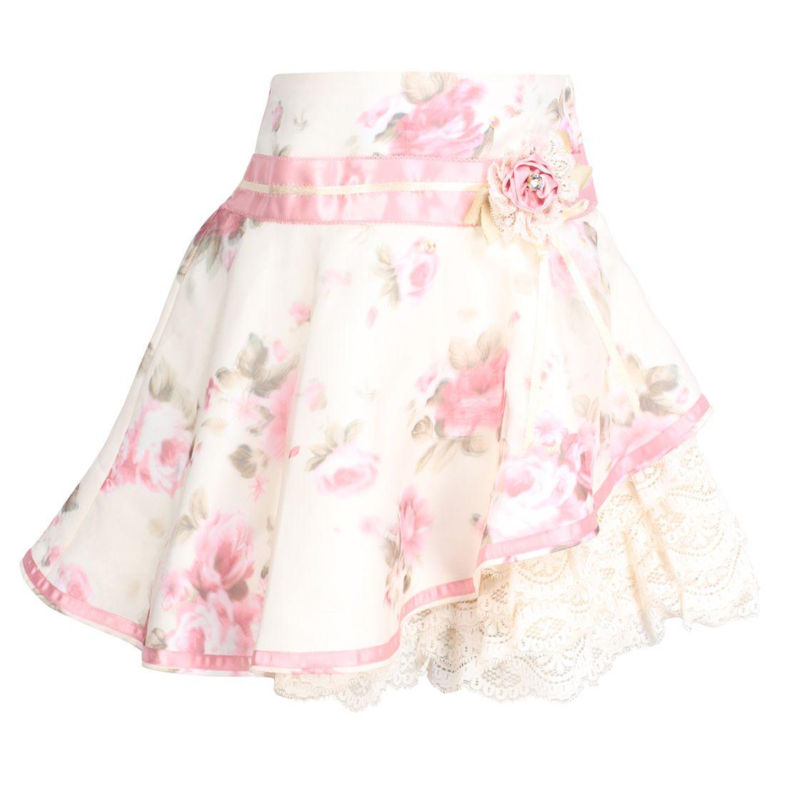 Cutecumber Girls Partywear Organza Skirt
