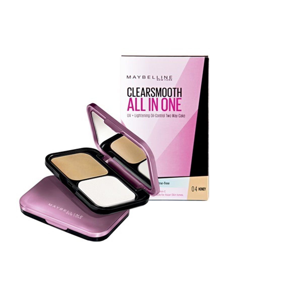 ... Maybelline ClearSmooth All In One Pressed Powder 04 Honey 04 Honey SPF  32 9 gm