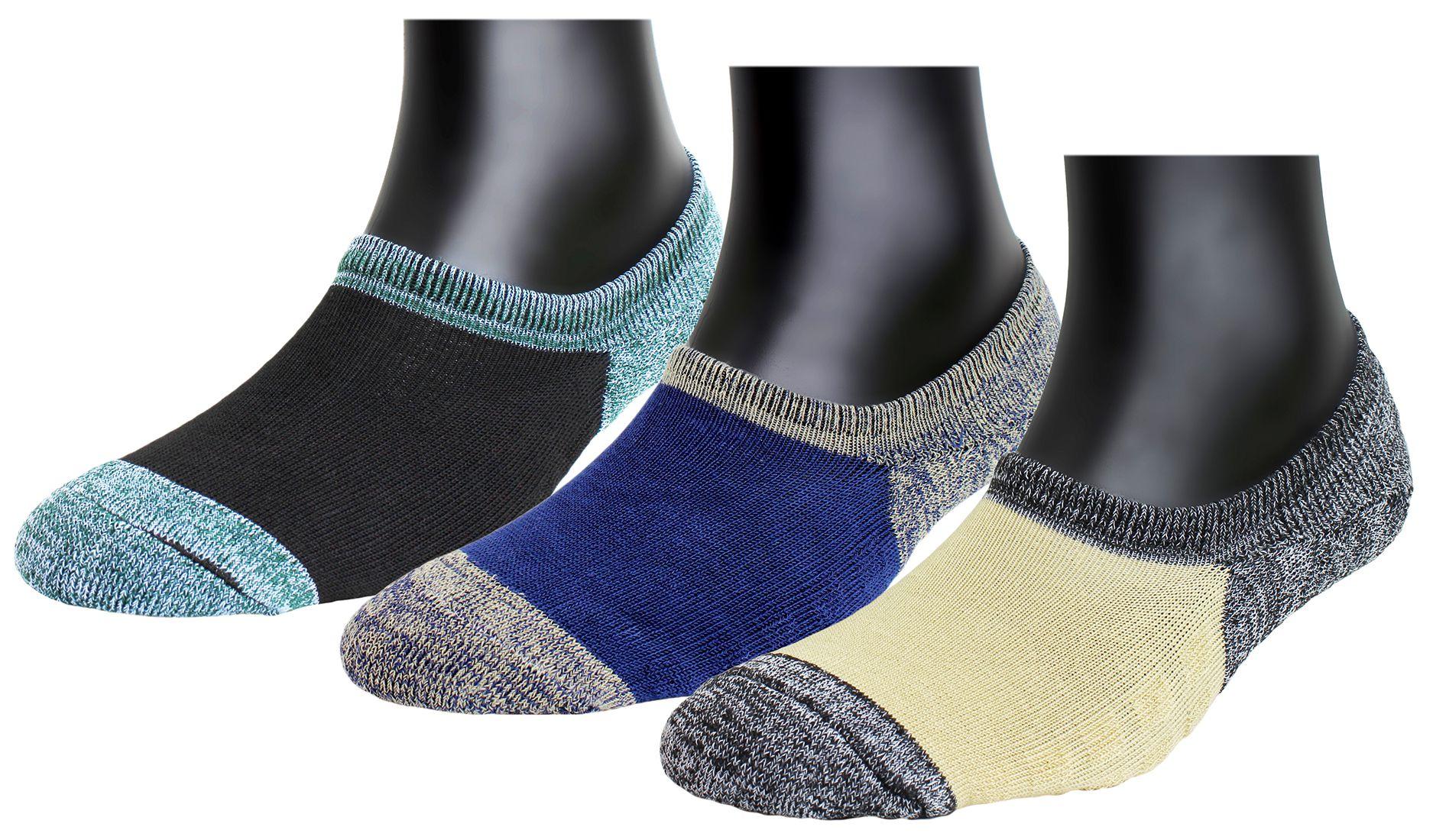 Neska Moda Premium Women's 3 Pairs Terry Cotton Loafer Socks With Silicon Gel Grip-S911