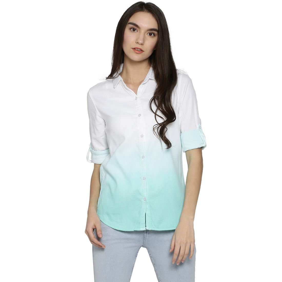 Campus Sutra Cotton Shirt