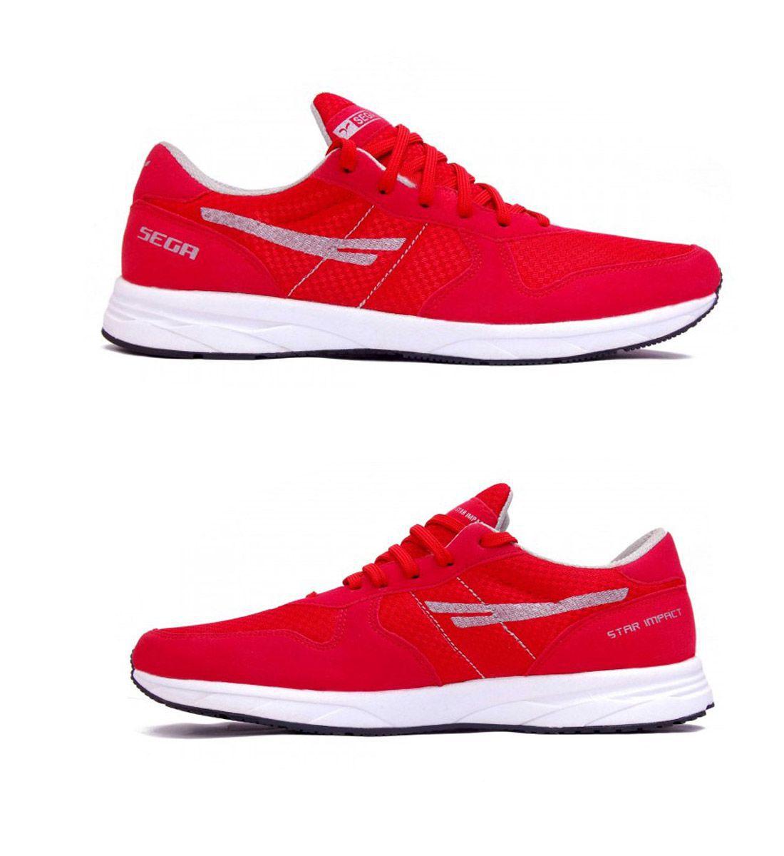 SEGA Red Running Shoes