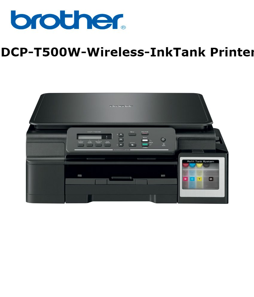 Brother DCP T500W Multi function Wireless Ink Tank