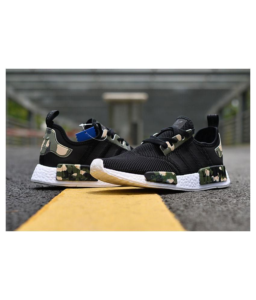 569ad53f7ab8c Adidas NMD Camo Black Running Shoes - Buy Adidas NMD Camo Black Running  Shoes Online at Best Prices in India on Snapdeal