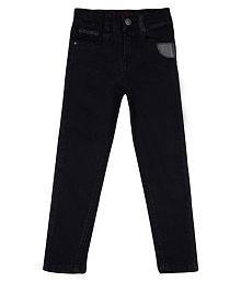 Tales & Stories Boys Black Elastane Jeans
