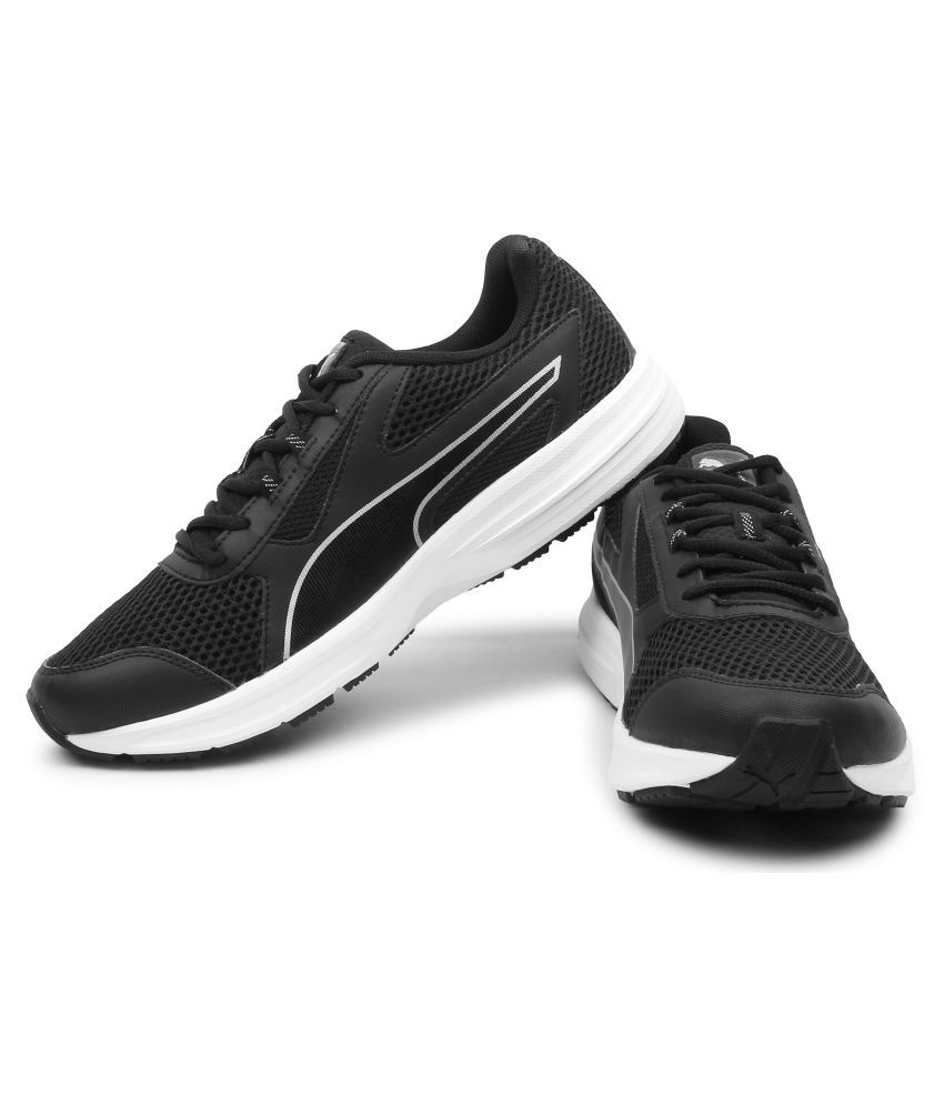 Puma Essential Runner IDP Black Running Shoes - Buy Puma Essential ... f9dcef401