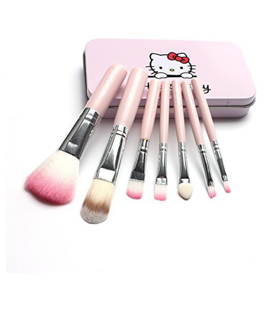 FOK Makeup Brush With a Storage Box Wet & Dry Products 7 no.s