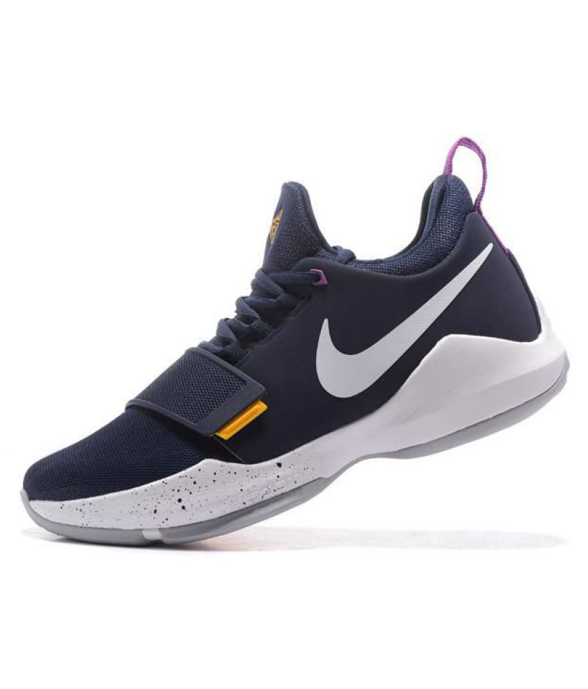 cheap for discount d58c2 2bcba Nike PG 1 PAUL GEORGE Black Basketball Shoes