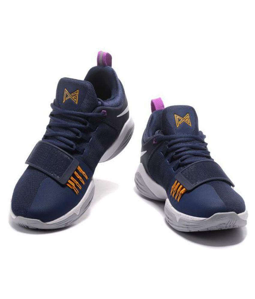 cheap for discount 8014e 58b69 Nike PG 1 PAUL GEORGE Black Basketball Shoes