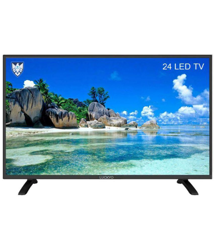 LUCKYO NA 61 cm ( 24 ) HD Ready (HDR) LED Television
