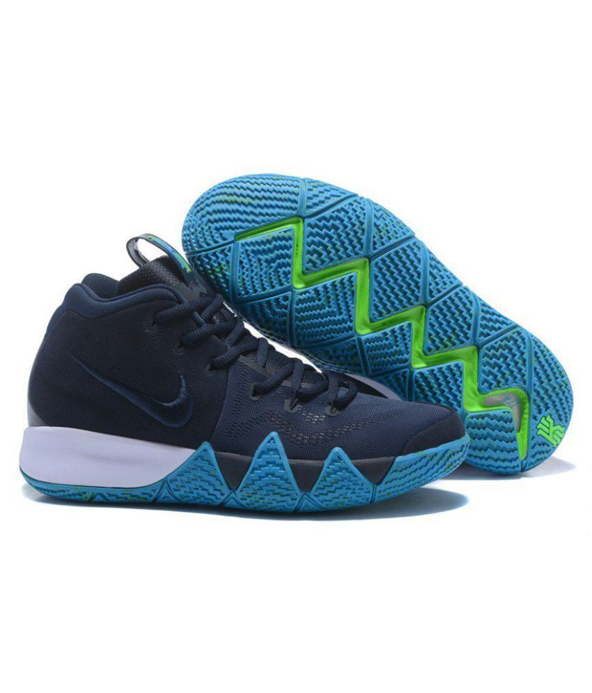efe68c160fe3 Nike Kyrie 4 Navy Basketball Shoes - Buy Nike Kyrie 4 Navy Basketball Shoes  Online at Best Prices in India on Snapdeal