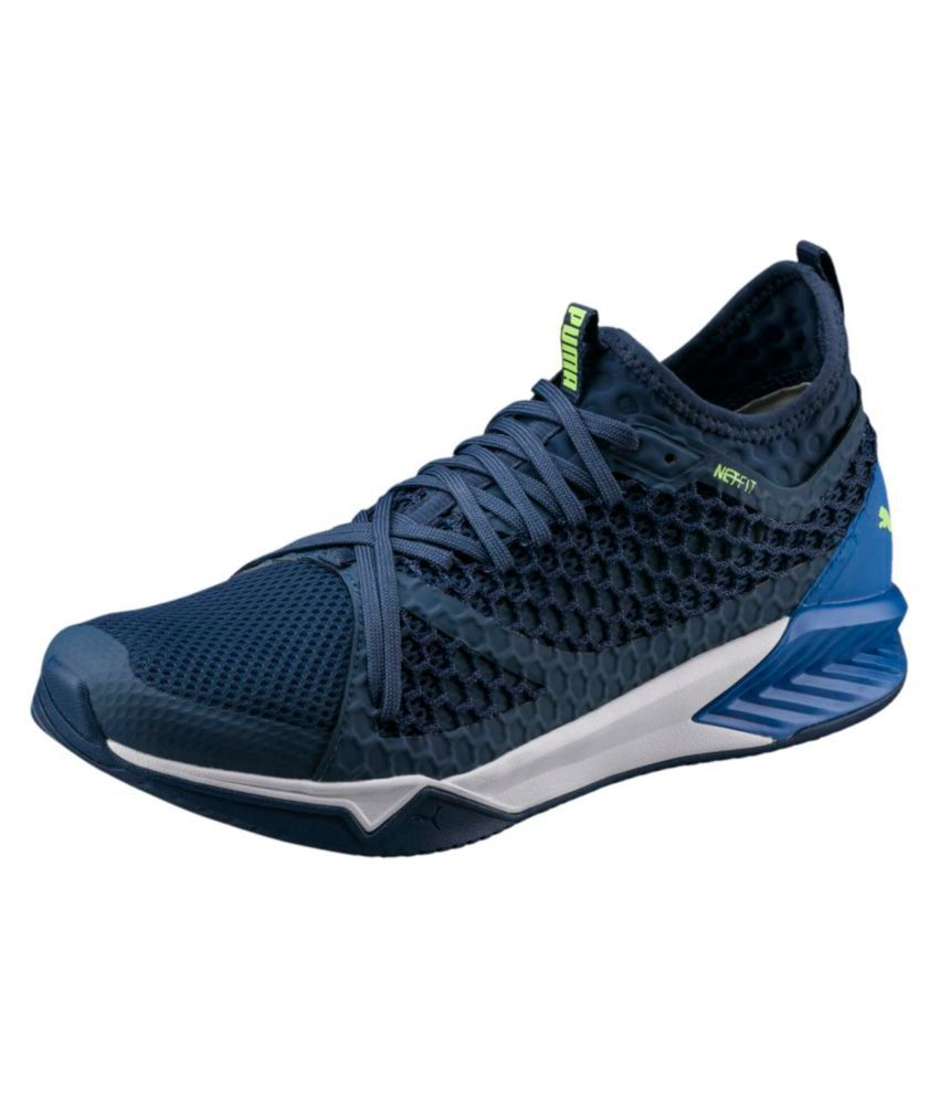 4d1600d13020ce Puma IGNITE XT NETFIT Blue Running Shoes - Buy Puma IGNITE XT NETFIT Blue  Running Shoes Online at Best Prices in India on Snapdeal