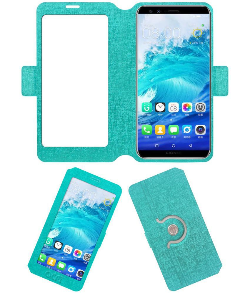 Gionee S11S Flip Cover by ACM - Blue