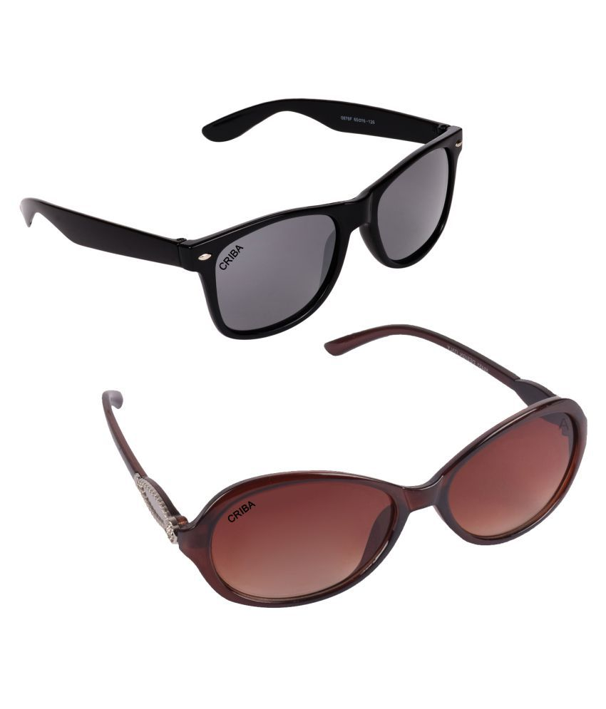 4e748929275 Criba Sunglasses Combo ( 2 pairs of sunglasses ) - Buy Criba Sunglasses  Combo ( 2 pairs of sunglasses ) Online at Low Price - Snapdeal