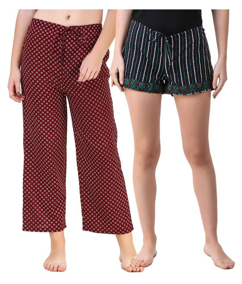 Masha Cotton Pajamas - Multi Color