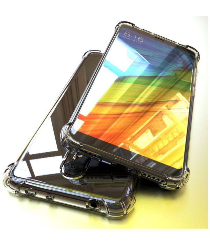 Redmi Note 5 Plain Cases Spectacular Ace - Transparent