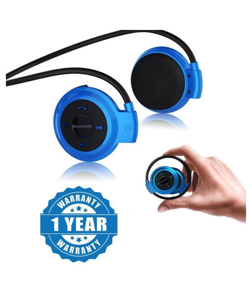 LatestTrend Mini 503 For Mega 2.5D Bluetooth Headset - Blue