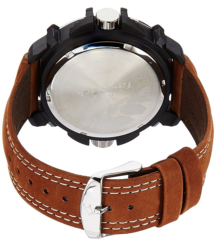 Fastrack pl02 Leather Analog
