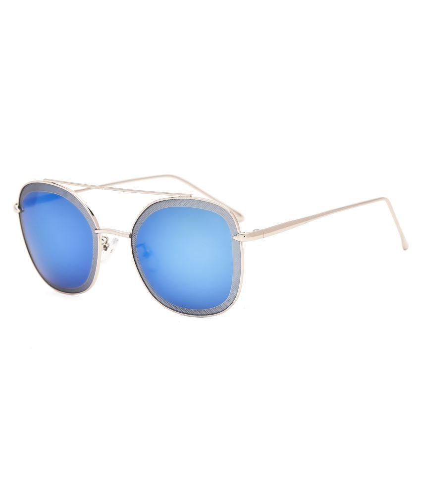 Royal Son Blue Aviator Sunglasses ( HI0004 )