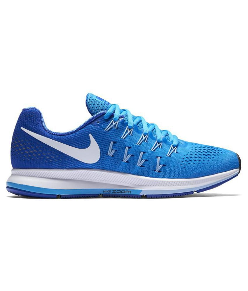 45fccbf1d4c1e Nike Air Zoom Pegasus 33 Blue Running Shoes - Buy Nike Air Zoom ...