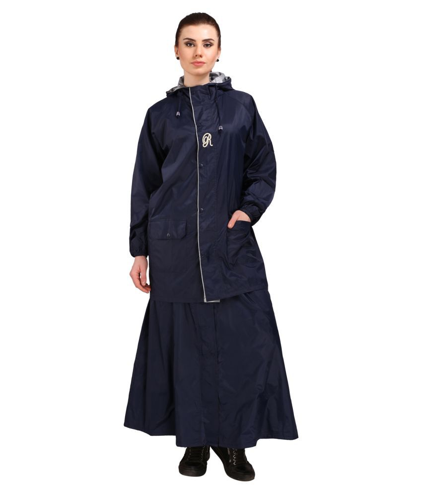REAL Nylon Raincoat Set - Blue