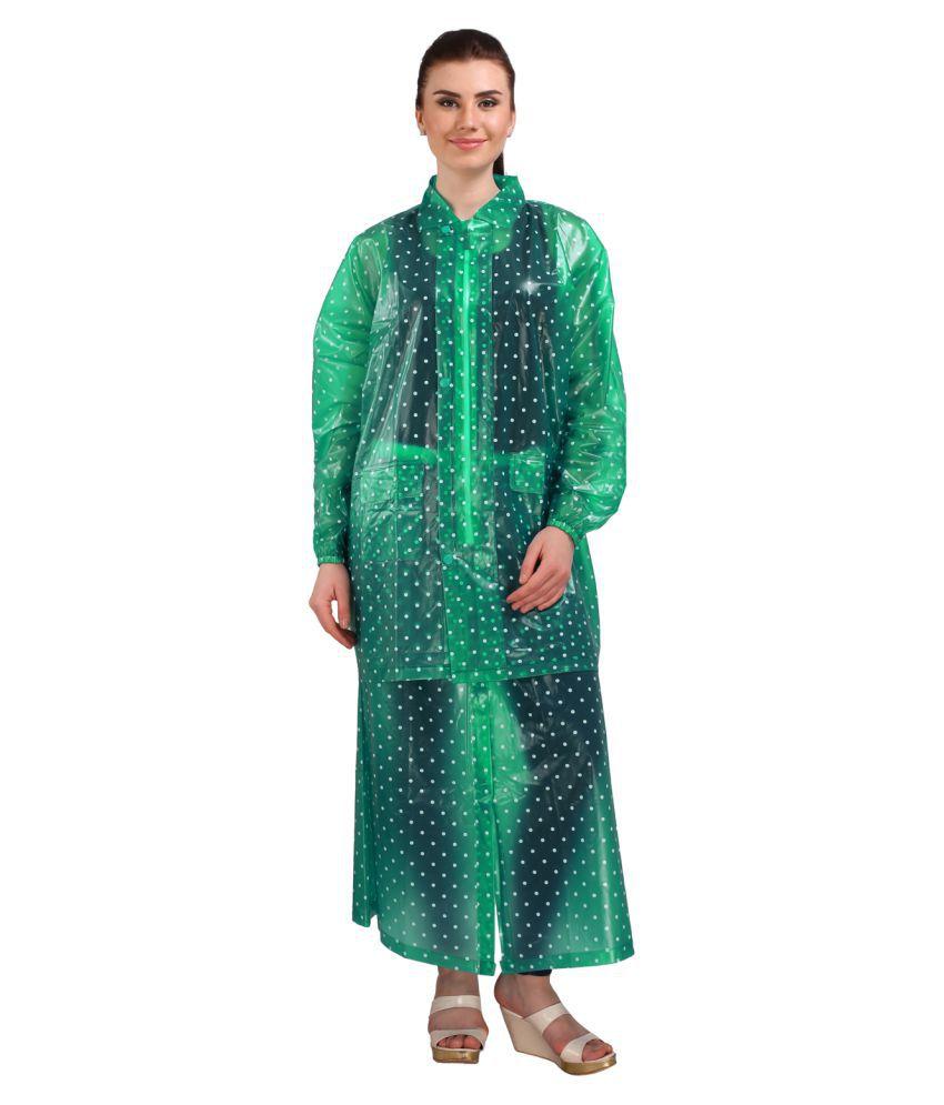 REAL Waterproof Raincoat Set - Green