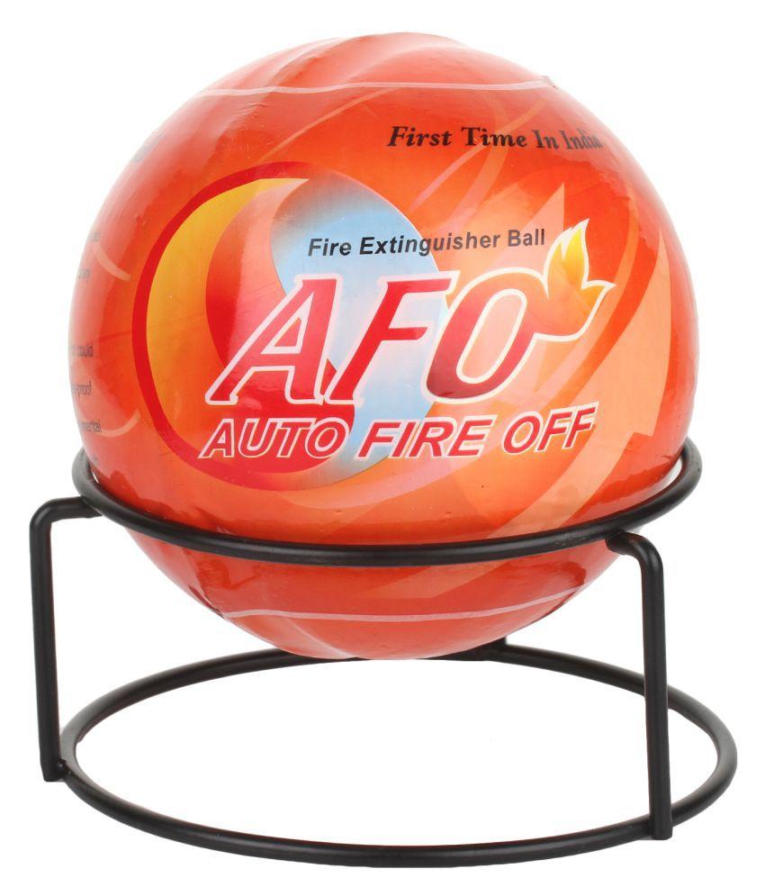 AFO (AUTO FIRE OFF) Plastic Fire Extinguisher Ball (Standard, Orange)