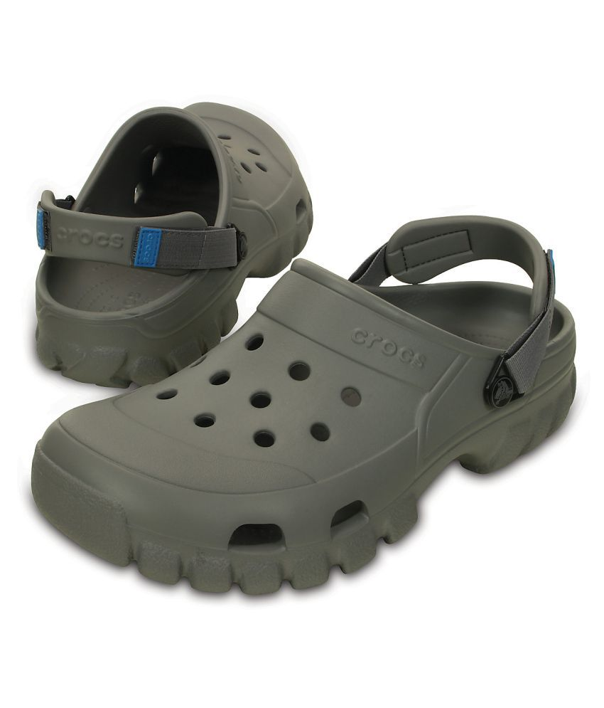 5ed499ae814da Crocs Offroad Sport Clog Gray Floater Sandals - Buy Crocs Offroad ...