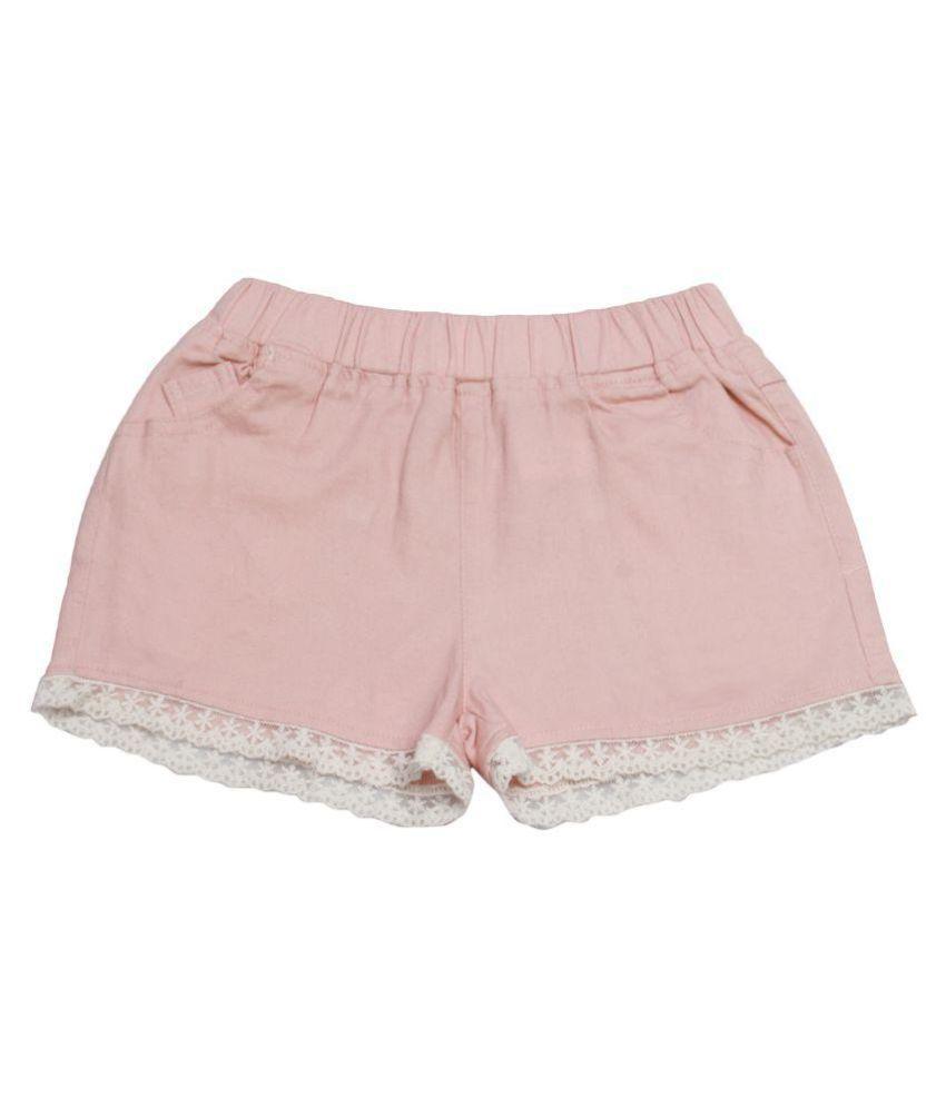 One Friday Girls Cotton Shorts