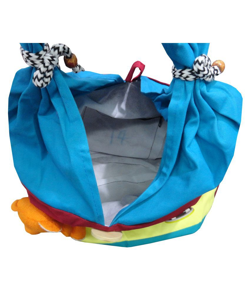 e5df69a82c82 ... Atorakushon® Multipurpose Carrying Case Women s Elegance Ethnic Cotton  with small teddy Style Handbag Clutches Ladies ...