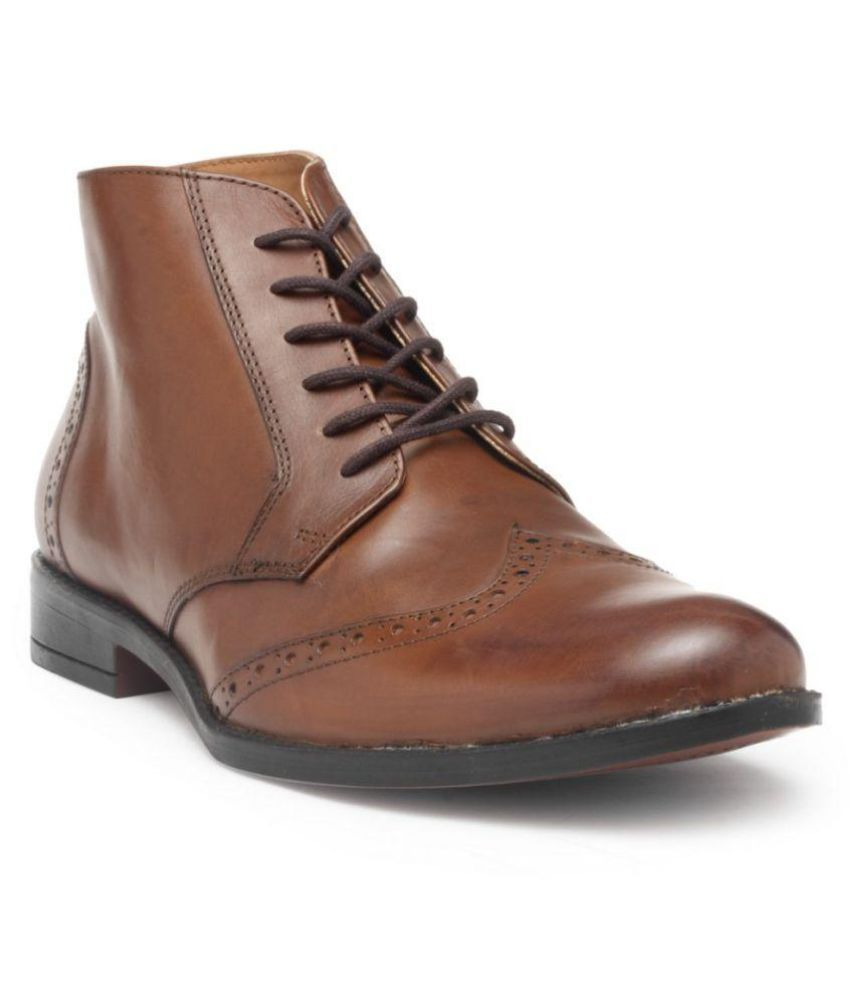 HATS OFF ACCESSORIES Brown Formal Boot
