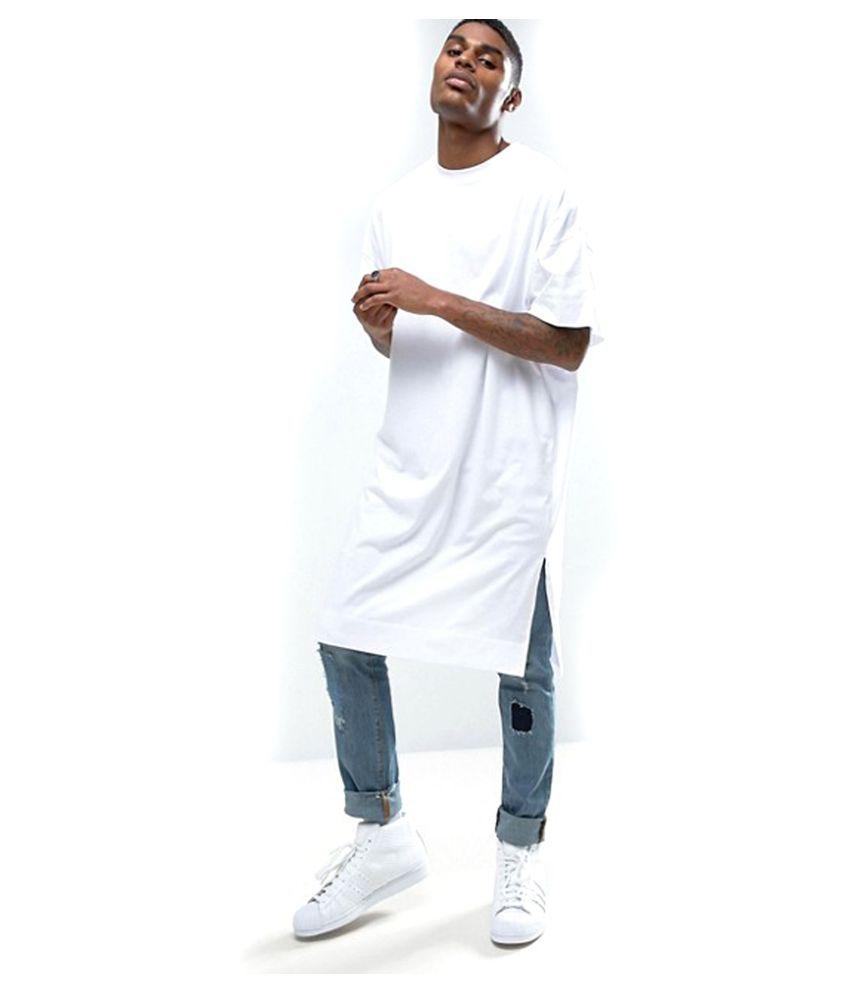 PAUSE White Round T-Shirt