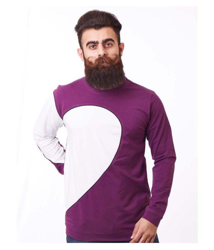 Rellin Purple Round T-Shirt Pack of 1