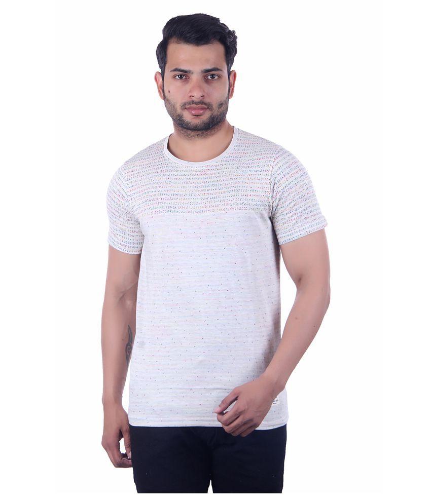 Urban Uth Off-White Round T-Shirt Pack of 1