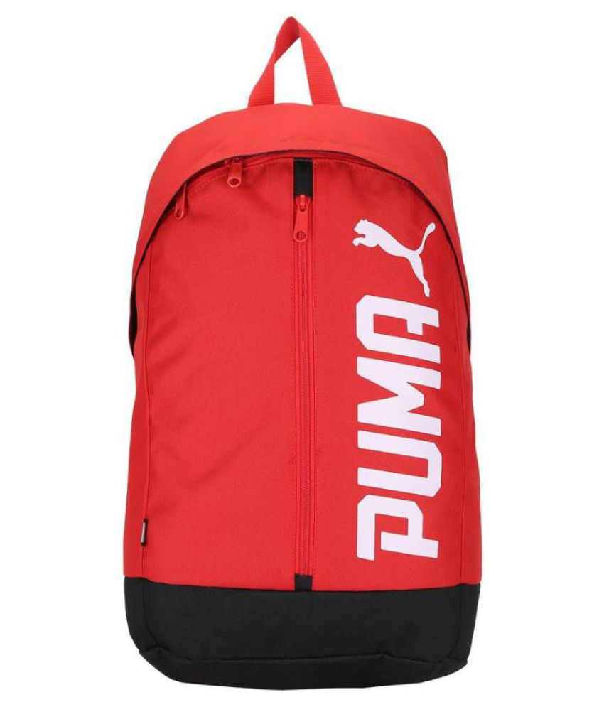 685070ed66 Puma Pioneer II Red Canvas College Bags Backpacks- 20 Ltrs - Buy Puma  Pioneer II Red Canvas College Bags Backpacks- 20 Ltrs Online at Low Price -  Snapdeal