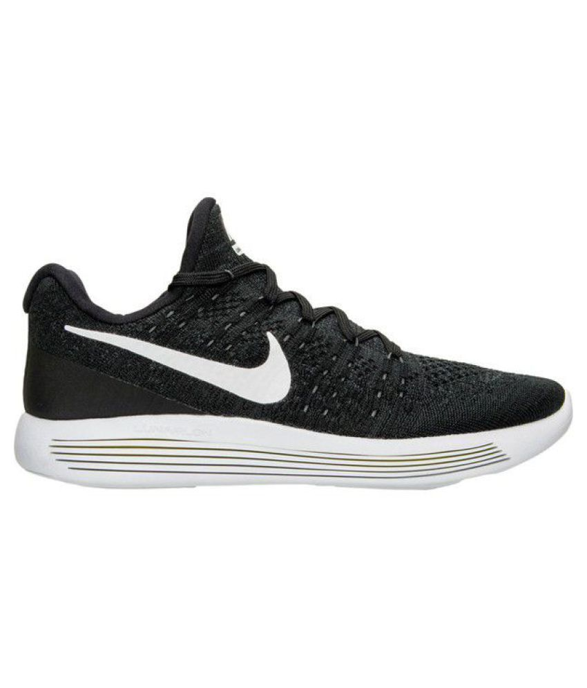 pretty nice a1fce 6c232 Nike Lunar Flyknit 3 Black Running Shoes - Buy Nike Lunar Flyknit 3 Black Running  Shoes Online at Best Prices in India on Snapdeal