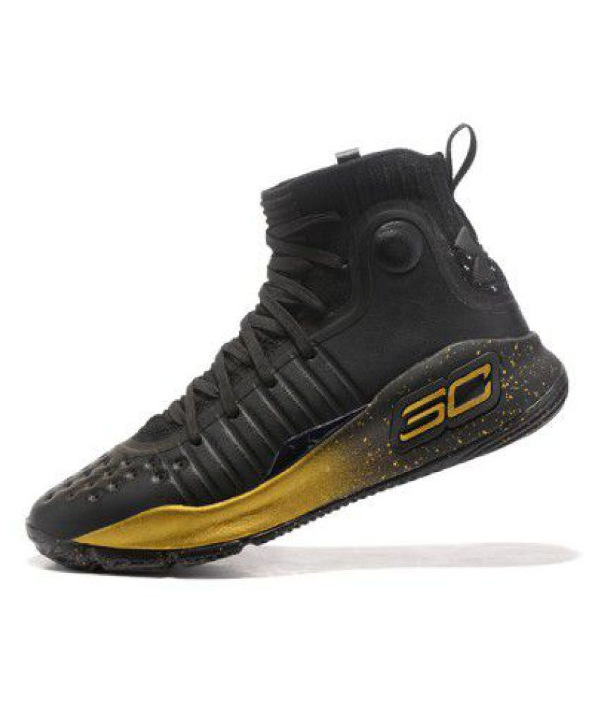 Under Armour STEPHEN CURRY 4 Black Basketball Shoes - Buy Under Armour  STEPHEN CURRY 4 Black Basketball Shoes Online at Best Prices in India on  Snapdeal 8e6f29f509