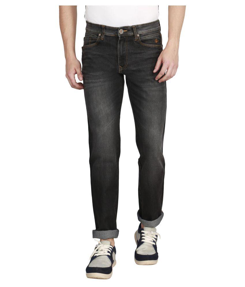 Raa Jeans Black Slim Jeans