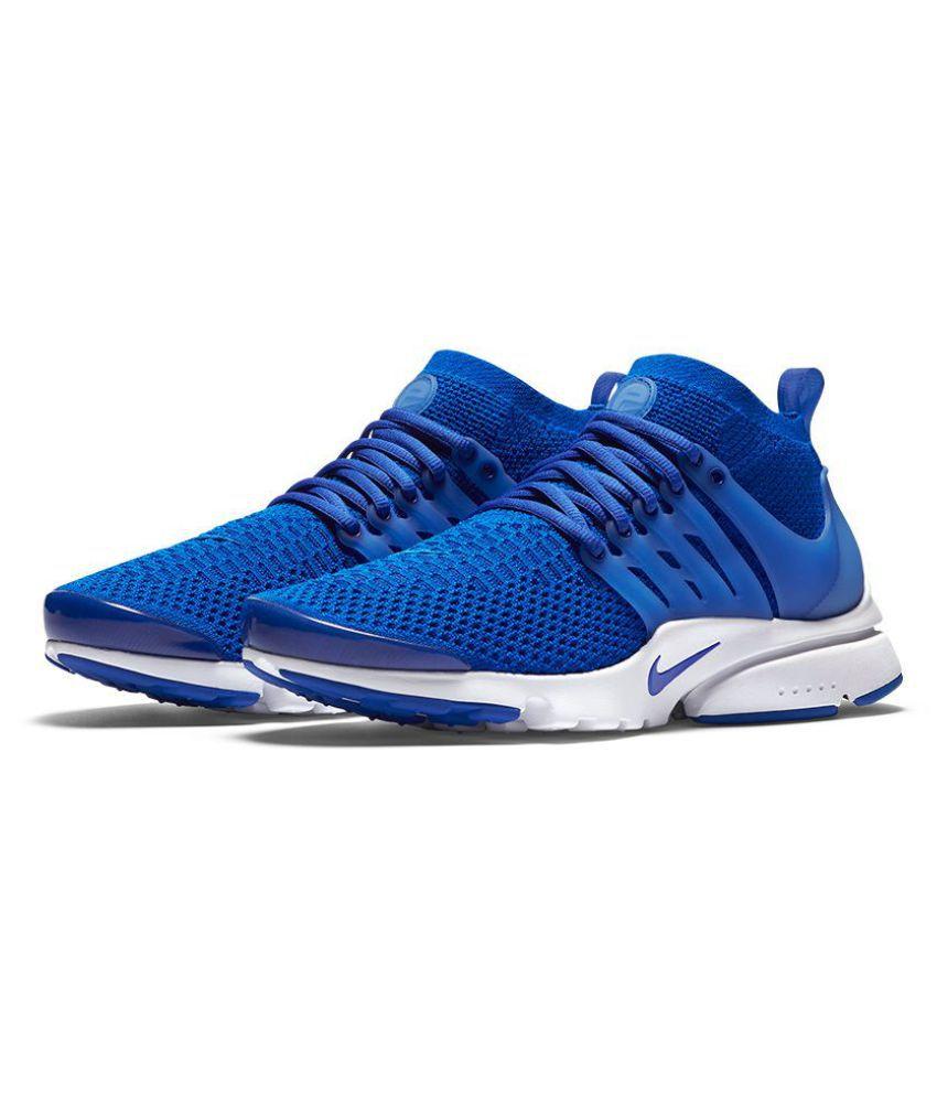 Nike Air Presto Flyknit Blue Running