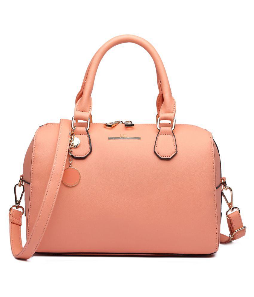 Diana Korr Pink P.U. Handheld