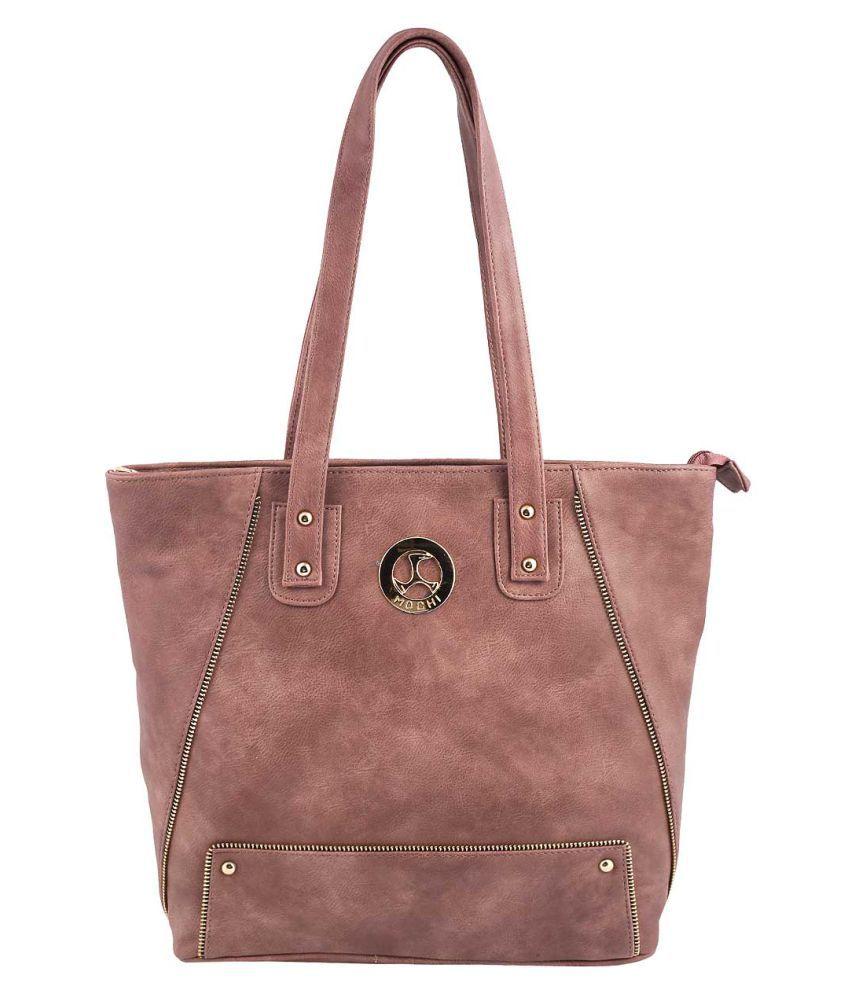 MOCHI PEACHPUFF Artificial Leather Shoulder Bag