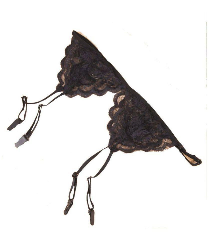 e31d0eba39b Buy Kaamastra Lace Garter Belt Stretch G-string Online at Best ...