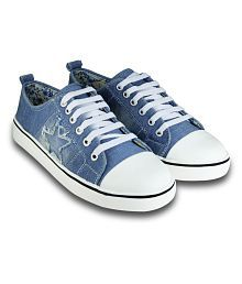 Beonza Blue Casual Shoes
