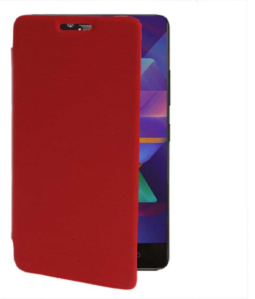buy online 33f2d 85afb Samsung Galaxy E7 Flip Cover by Shanice - Red