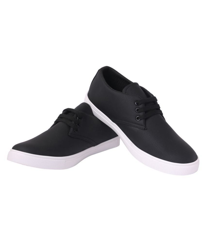 Aakruti Lifestyle Black Casual Shoes