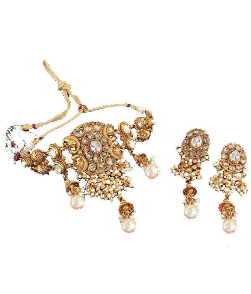 armsah 95.5 Yellow Gold Necklace Set