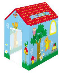 crazy toys kid' house with doors & windows opening