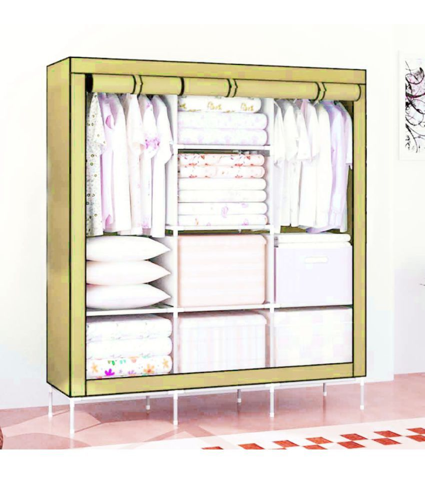 house of quirk 66inch portable foldable closet collapsible foldable rh m snapdeal com