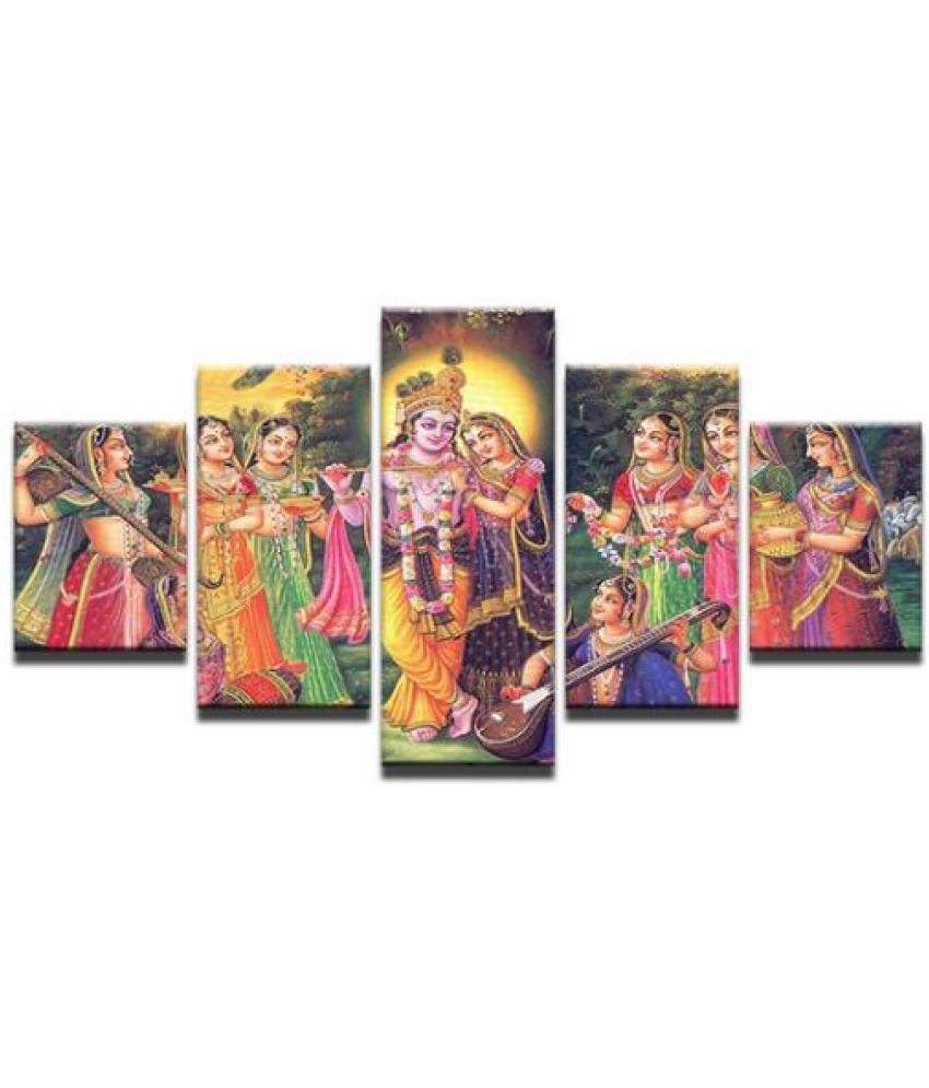 Radha Krishna Digital Canvas Printing without Frame AHDCP-31R